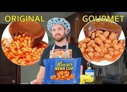Enlace a Cocinando unos bombones gourmet rellenos de frijoles