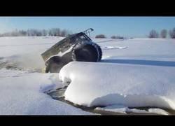 Enlace a El vehículo SHERPA capaz de rodar por cualquier terreno