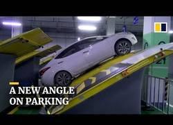 Enlace a Los parking inclinados son la novedad en China donde hay más espacio para más coches