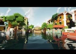 Enlace a Así sería Minecraft en 4K con una resolución hiper realista