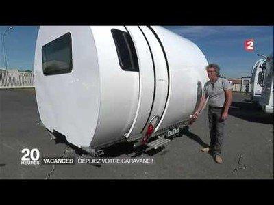 La caravana que multiplica por tres su tamaño