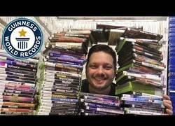 Enlace a Este tipo es el poseedor de la mayor colección de videojuegos del Mundo