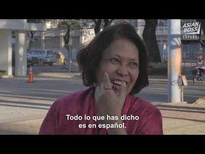Así hablan los filipinos el español