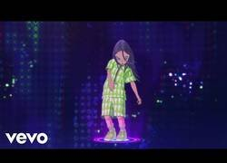 Enlace a El maravilloso videoclip de Billie Eilish con un arte increíble por parte de Takashi Murakami