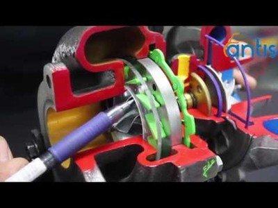 Clase práctica de cómo funciona el turbo del coche