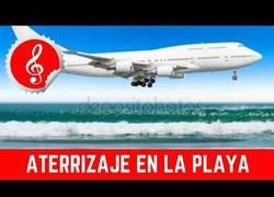 Enlace a ¿Puede un avión aterrizar o despegar en la playa?