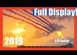 Enlace a El increíble show aéreo creado en el online del GTA