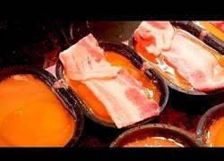 Enlace a El tocino con pan y huevo que lo peta en las calles de Korea