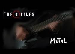 Enlace a Interpretando la canción de Expediente X en versión Metal