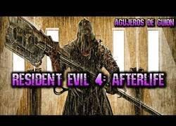 Enlace a Agujeros y errores de Resident Evil Ultratumba