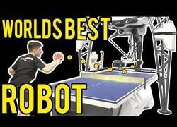 Enlace a Se llama Forpheus y es el mejor robot jugando a ping pong
