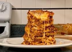 Enlace a La deliciosa receta de esta lasaña con la que chuparás todo el plato