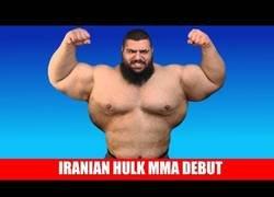 Enlace a Te presentamos a el Hulk iraní que pronto debutará en la MMA