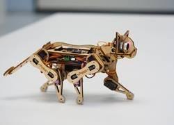 Enlace a Se llama Nybble y es el primer gato de código abierto que puedes tener en casa