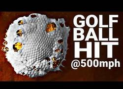 Enlace a Poniendo a prueba el máximo de fuerza con el que golpear una pelota de golf