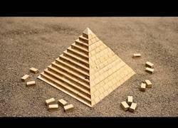 Enlace a La teoría de como se construyeron las pirámides