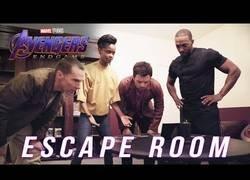 Enlace a Llega el Escape Room de Avengers: Endgame