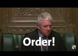 Enlace a El parlamento inglés, una batalla campal
