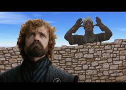 Enlace a Tyrion intenta negociar con los Monty Python