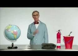 Enlace a Bill Nye y el experimento de la tierra en llamas [Inglés]