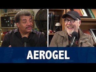 Neil DeGrasse Tyson deja flipado a Adam Savage con el ''Aerogel''