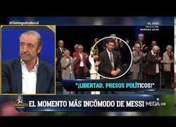 Enlace a Messi condecorado con la Creu de Sant Jordi, deja de aplaudir ante la politización del evento
