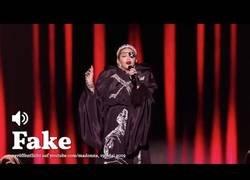Enlace a Madonna edita su actuación en Eurovisión