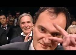 Enlace a Cámara graba super cerca las caras del casting de la última película de Quentin Tarantino en Cannes