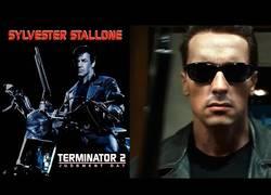 Enlace a Terminator 2 protagonizada por Sylvester Stallone [DeepFake]