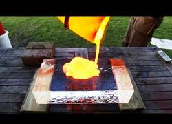 Enlace a Lava vs hielo seco