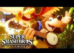 Enlace a Vuelve a Nintendo....Vuelve Banjo- Kazooie  para Super Smash Bros