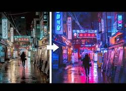 Enlace a Tutorial photoshop para conseguir un estilo cyberpunk