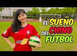 Enlace a China y el fútbol