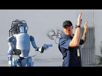 Robot de Boston Dynamics harto se desata