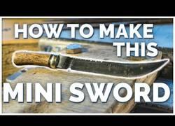 Enlace a Cómo fabricar una mini espada