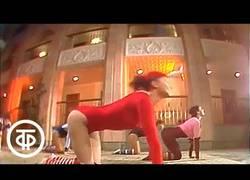 Enlace a Video ochentero soviético para hacer ejercicio y ponerse en forma