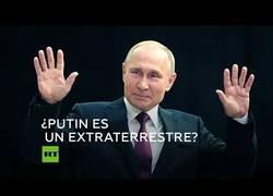 Enlace a Vladimir Putin rechaza su origen alienígena