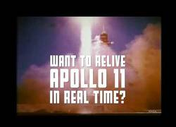 Enlace a Canal de youtube reproducirá en directo con 50 años de diferencia la misión del Apollo 11