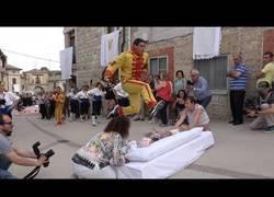 Enlace a Curiosa tradición en Burgos