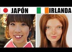 Enlace a Los cánones de belleza de diferentes países