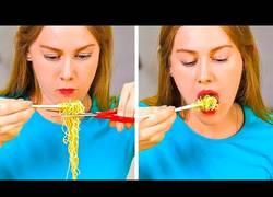 Enlace a Probando trucos para facilitarte la vida a la hora de comer