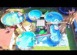 Enlace a Metas de la vida: Construir tu propio parque acuático en el jardín