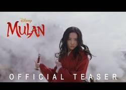 Enlace a Teaser oficial del live action de ''Mulan''
