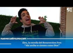 Enlace a Entrevista con Alex, la estrella del Resurrection Fest 2019