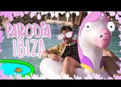 Enlace a Piscina (PARODIA Ibiza | Ozuna ft Romeo Santos) - Polifacético