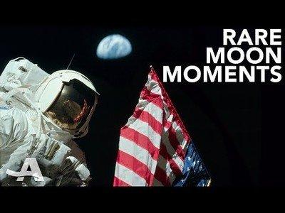 Otros momentos olvidados del aterrizaje en la luna