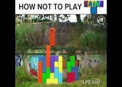 Enlace a Cómo NO jugar al tetris