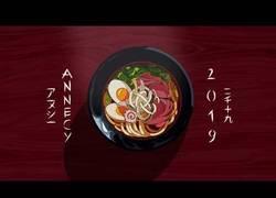 Enlace a Preparando un delicioso ramen en esta preciosidad de animación