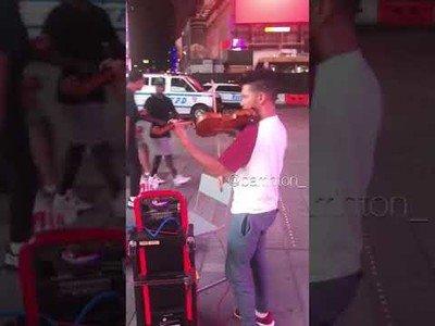 Cuando un neoyorquino escucha un violín