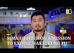 Enlace a Luchador chino de MMA se dispone a exponer a maestros de artes marciales 'fake' [ENG subs]